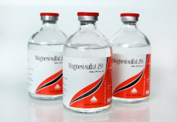 Thuốc tẩy nhuận tràng MAGNESI SULFAT MgSO4