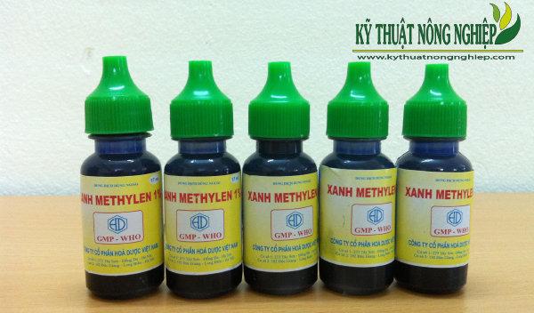 Dung dịch thuốc tím Xanh Methylen