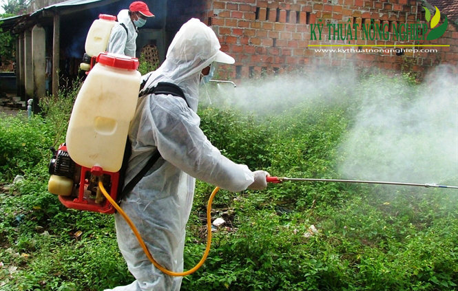 Tiến hành tiêu độc, sát trùng bằng thuốc NOVACIDE