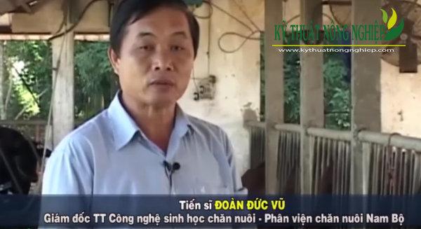 Tiến sĩ Đoàn Đức Vũ – Giám đốc Trung Tâm công nghệ sinh học chăn nuôi