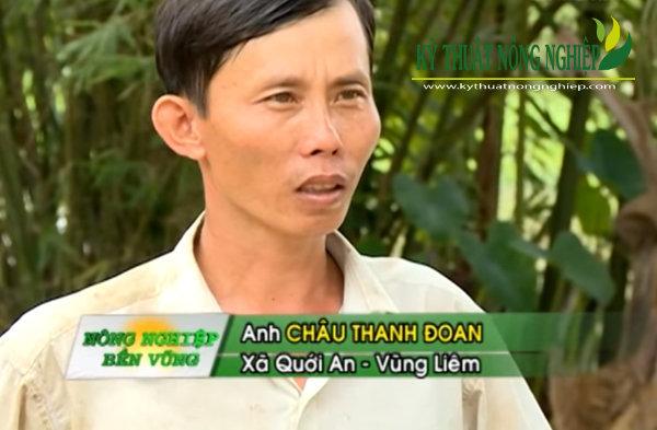 Anh Châu Thanh Đoan ở Ấp Quang Bình